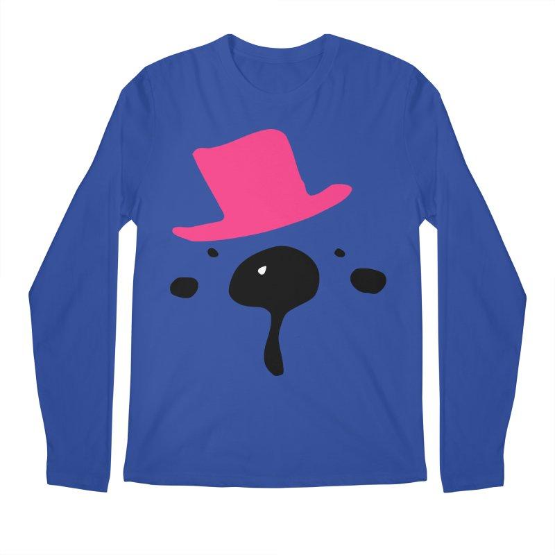 Panda Bear Men's Regular Longsleeve T-Shirt by cindyshim's Artist Shop