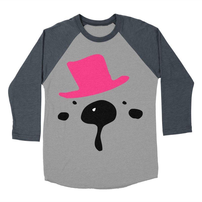 Panda Bear Women's Baseball Triblend Longsleeve T-Shirt by cindyshim's Artist Shop