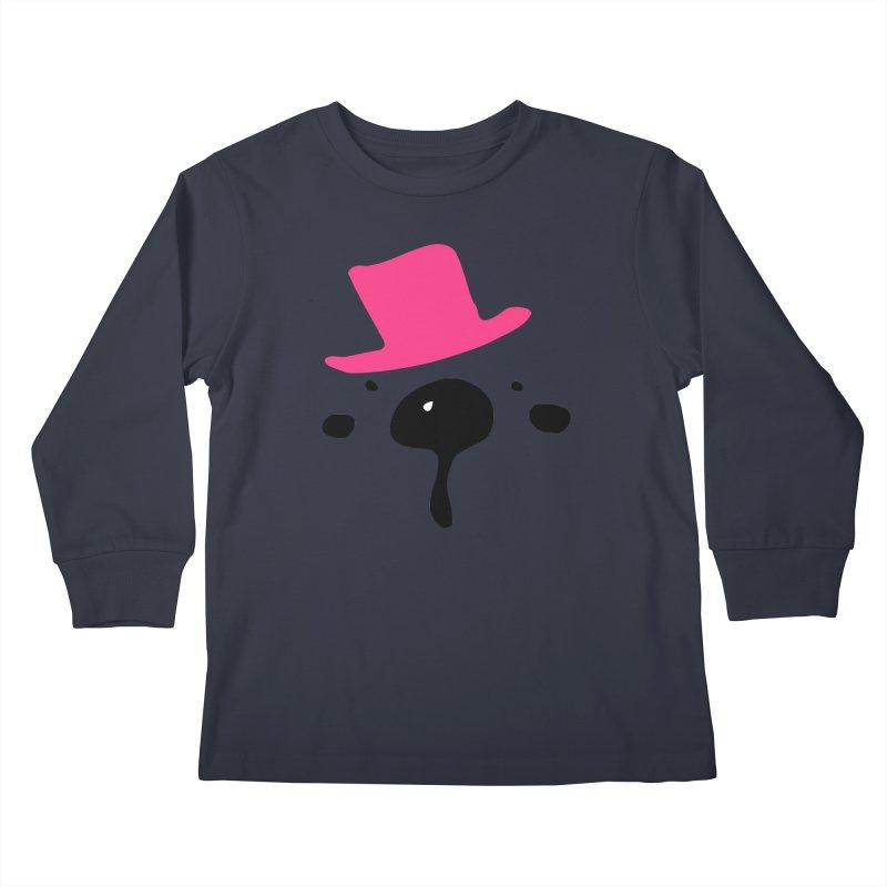 Panda Bear Kids Longsleeve T-Shirt by cindyshim's Artist Shop