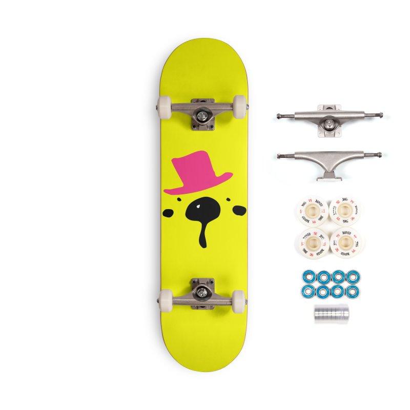 Panda Bear Accessories Complete - Premium Skateboard by cindyshim's Artist Shop