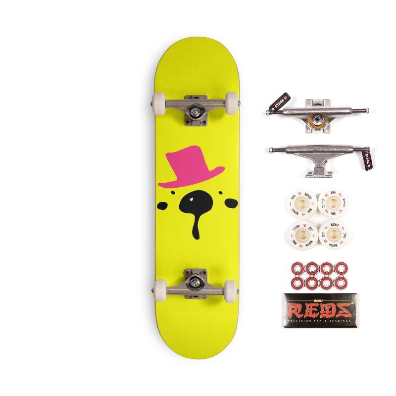 Panda Bear Accessories Complete - Pro Skateboard by cindyshim's Artist Shop