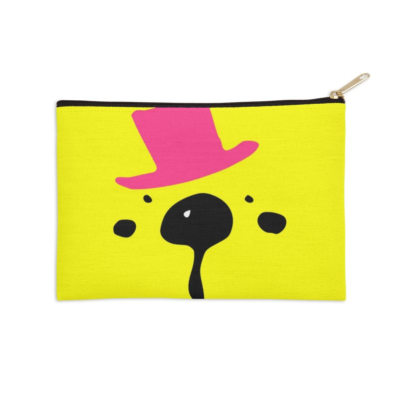 Panda Bear Accessories Zip Pouch by cindyshim's Artist Shop