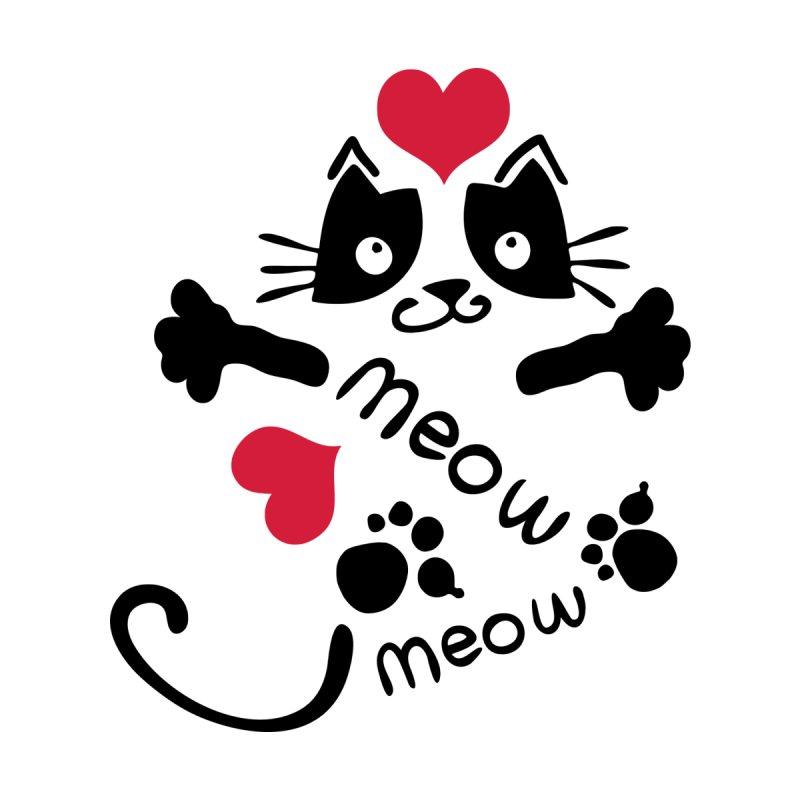 Meow Meow cat by cindyshim's Artist Shop