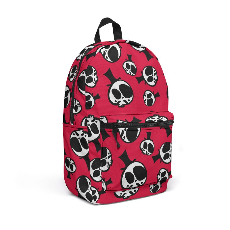 Skull with mustache Accessories Backpack Bag by cindyshim's Artist Shop
