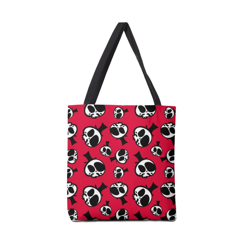 Skull with mustache Accessories Tote Bag Bag by cindyshim's Artist Shop