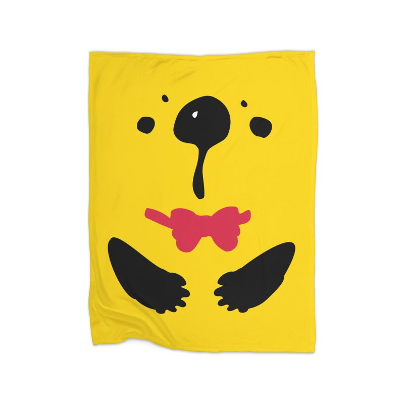 Panda Bear Home Fleece Blanket Blanket by cindyshim's Artist Shop