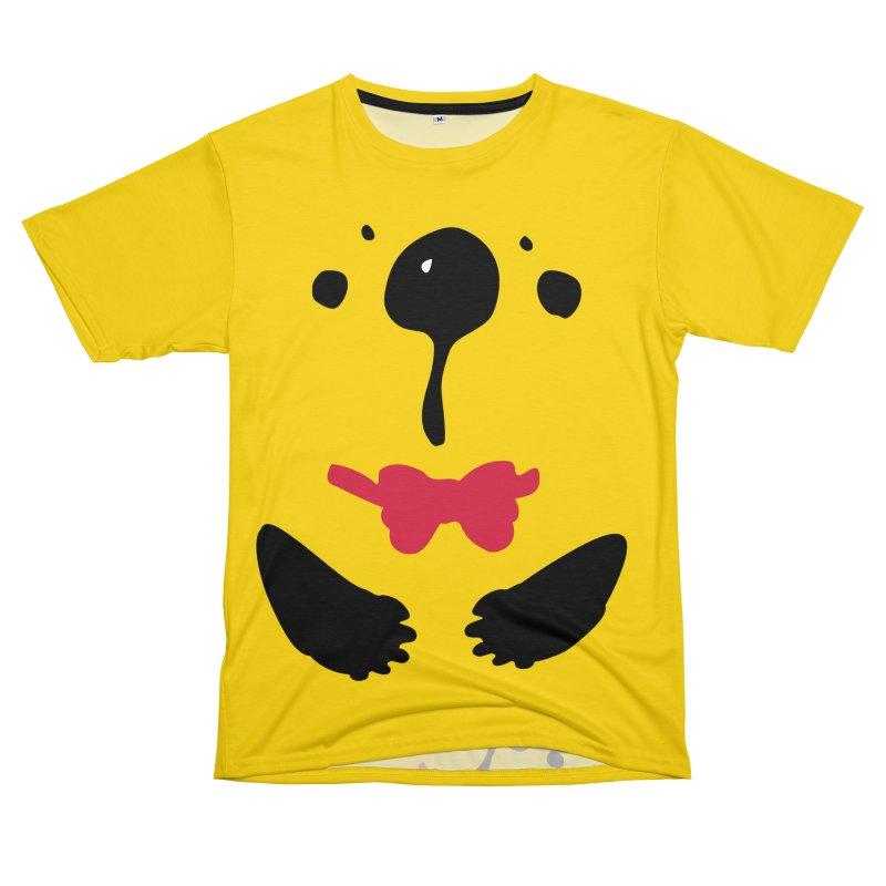 Panda Bear Women's Unisex T-Shirt Cut & Sew by cindyshim's Artist Shop
