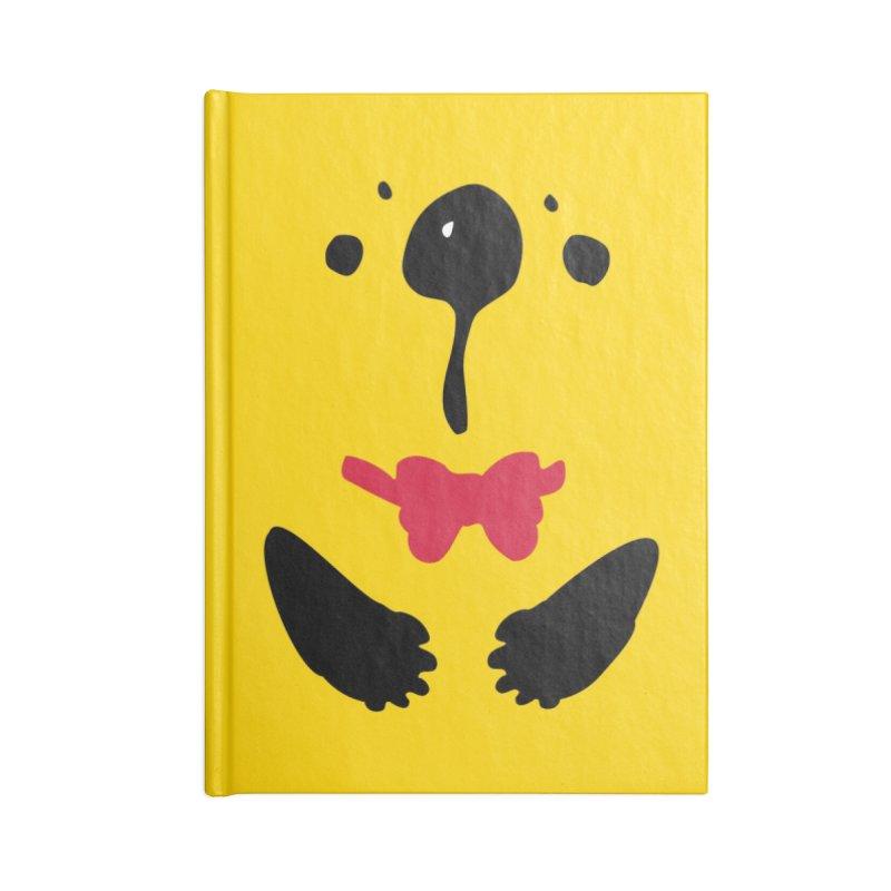 Panda Bear Accessories Blank Journal Notebook by cindyshim's Artist Shop