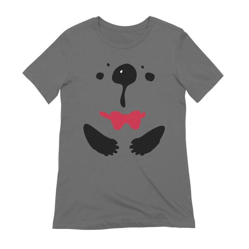 Panda Bear Women's Extra Soft T-Shirt by cindyshim's Artist Shop