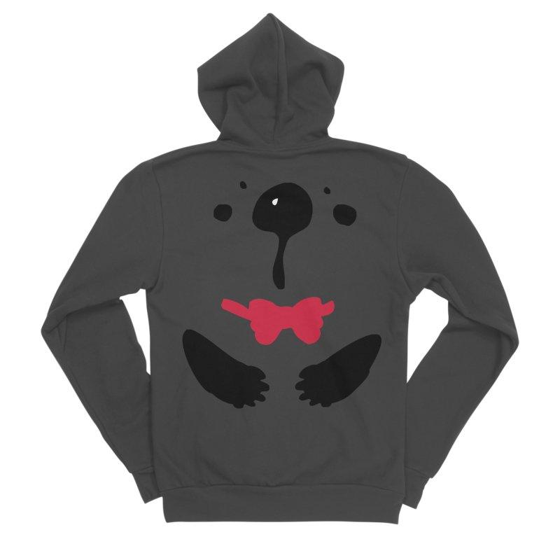 Panda Bear Men's Sponge Fleece Zip-Up Hoody by cindyshim's Artist Shop