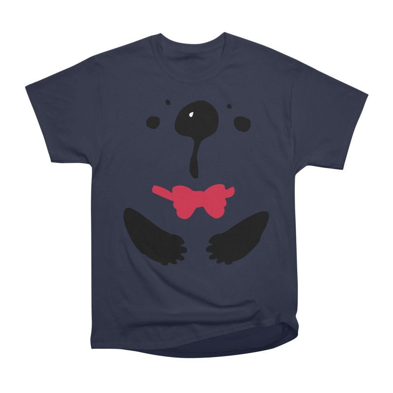 Panda Bear Men's Heavyweight T-Shirt by cindyshim's Artist Shop