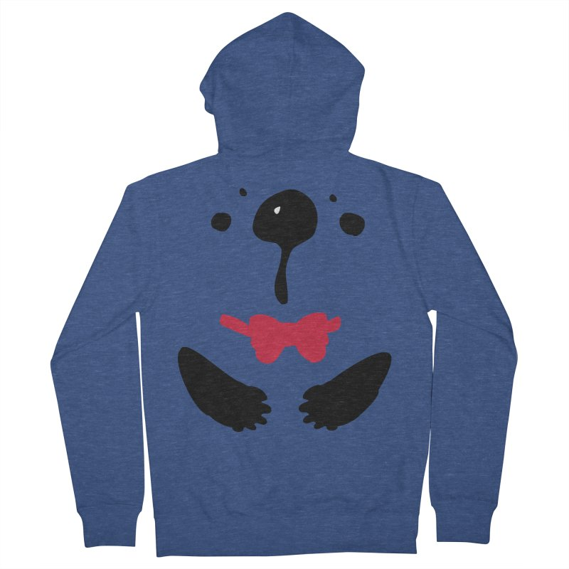 Panda Bear Women's French Terry Zip-Up Hoody by cindyshim's Artist Shop
