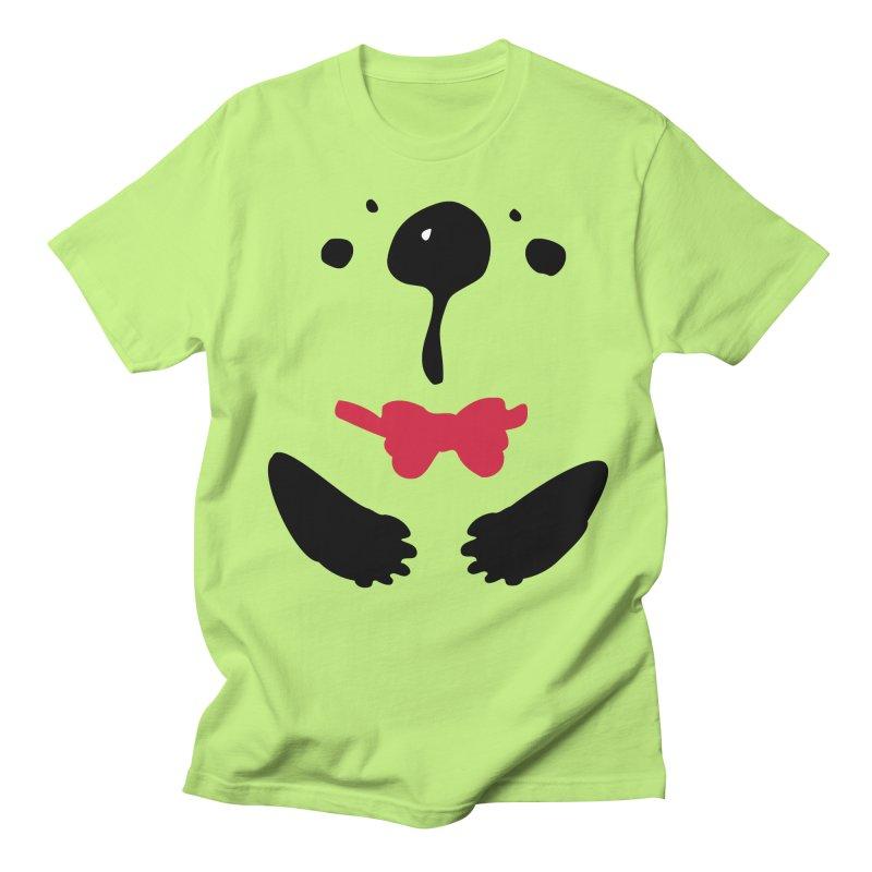 Panda Bear Men's Regular T-Shirt by cindyshim's Artist Shop