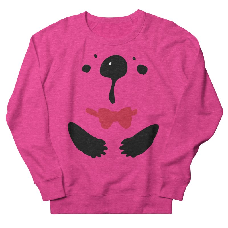 Panda Bear Women's French Terry Sweatshirt by cindyshim's Artist Shop