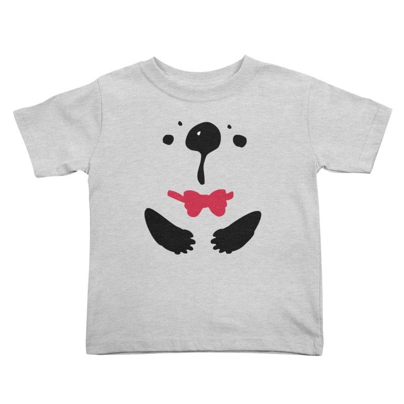 Panda Bear Kids Toddler T-Shirt by cindyshim's Artist Shop