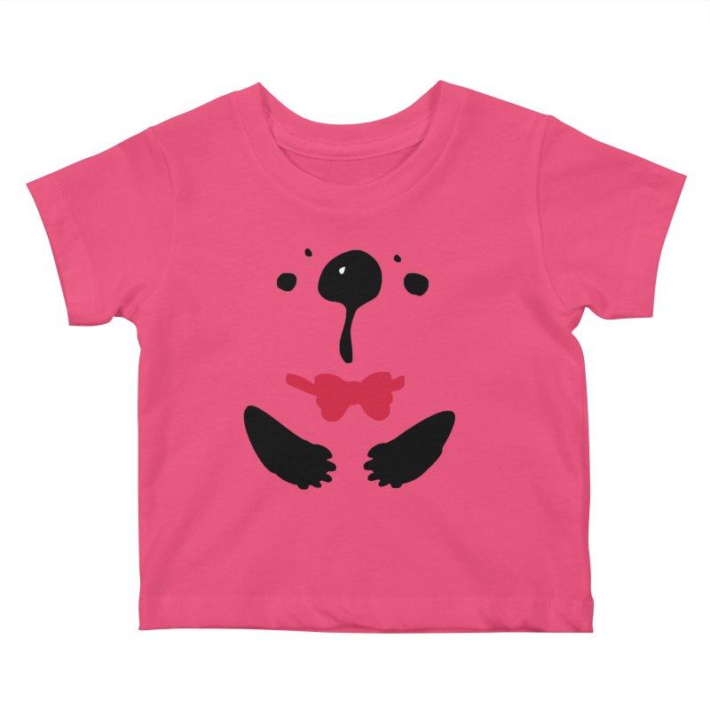 Panda Bear Kids Baby T-Shirt by cindyshim's Artist Shop