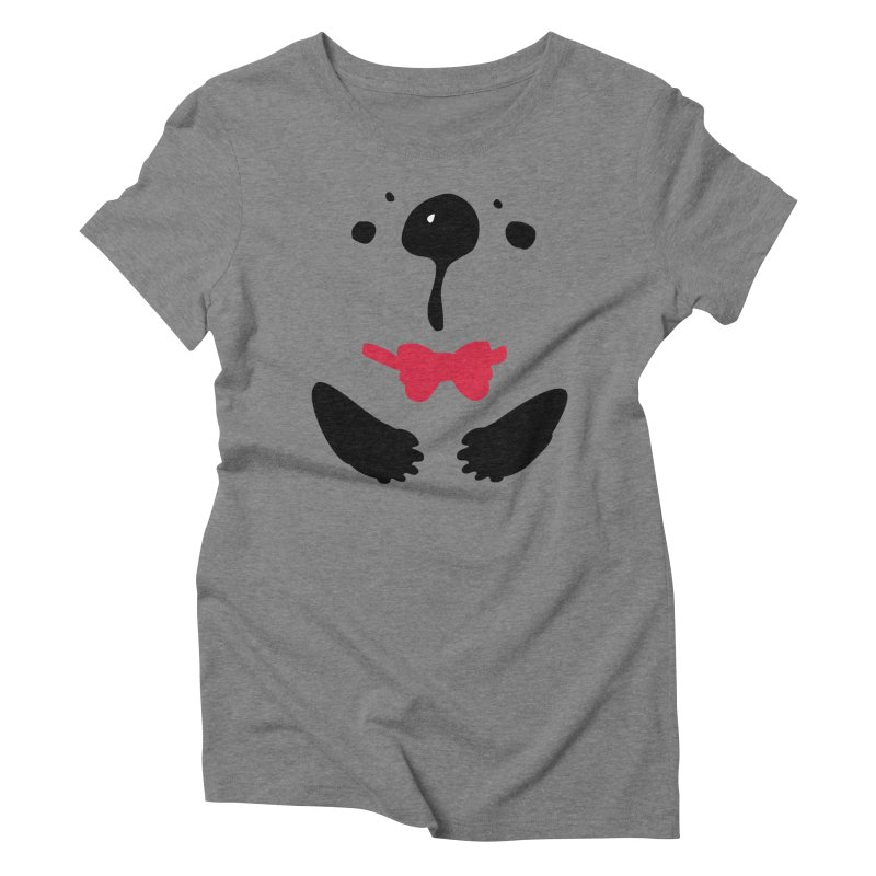 Panda Bear Women's Triblend T-Shirt by cindyshim's Artist Shop