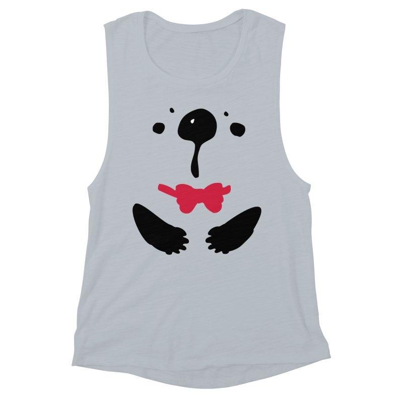 Panda Bear Women's Muscle Tank by cindyshim's Artist Shop