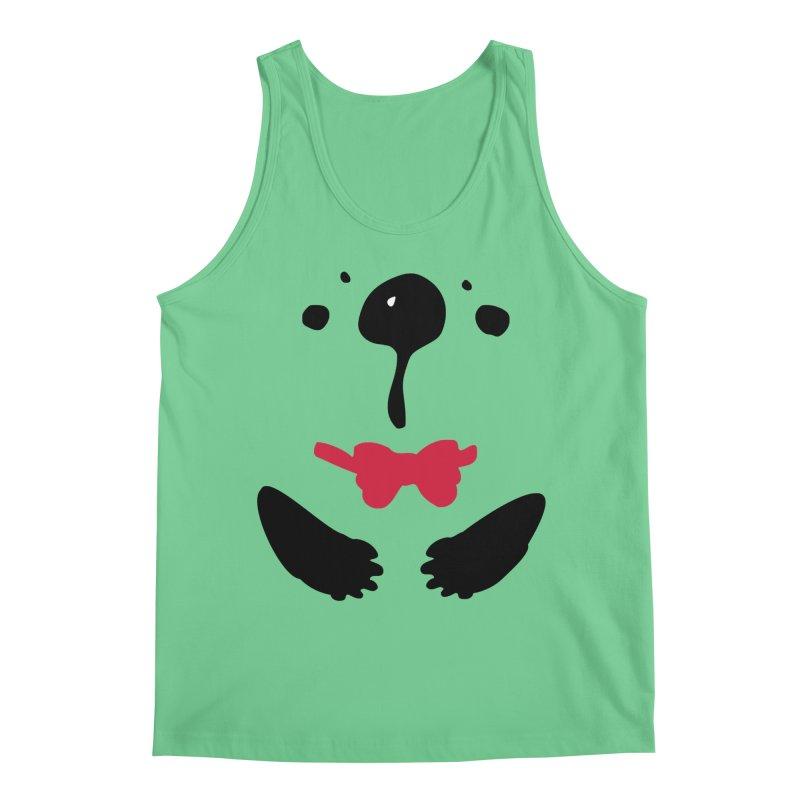 Panda Bear Men's Regular Tank by cindyshim's Artist Shop