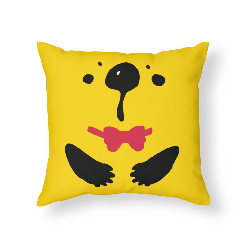 Panda Bear Home Throw Pillow by cindyshim's Artist Shop