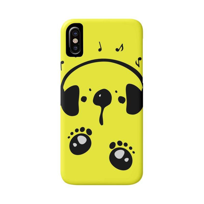 Panda bear love music Accessories Phone Case by cindyshim's Artist Shop