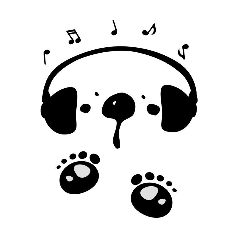 Panda bear love music by cindyshim's Artist Shop