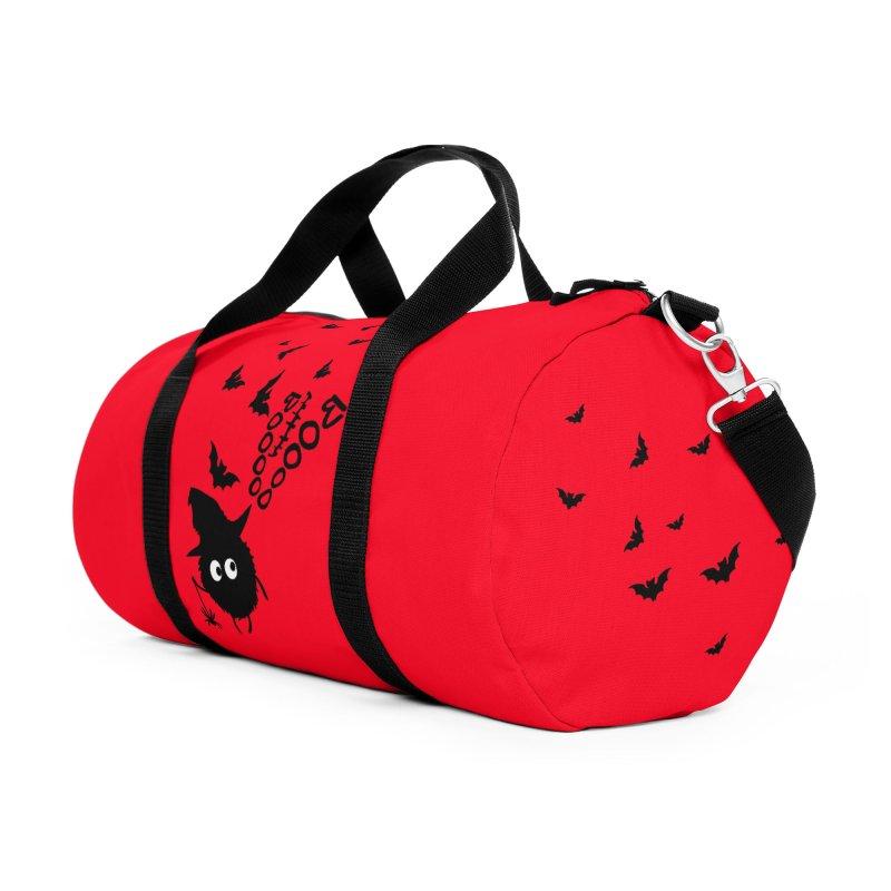 BOO BOO Halloween Accessories Duffel Bag Bag by cindyshim's Artist Shop