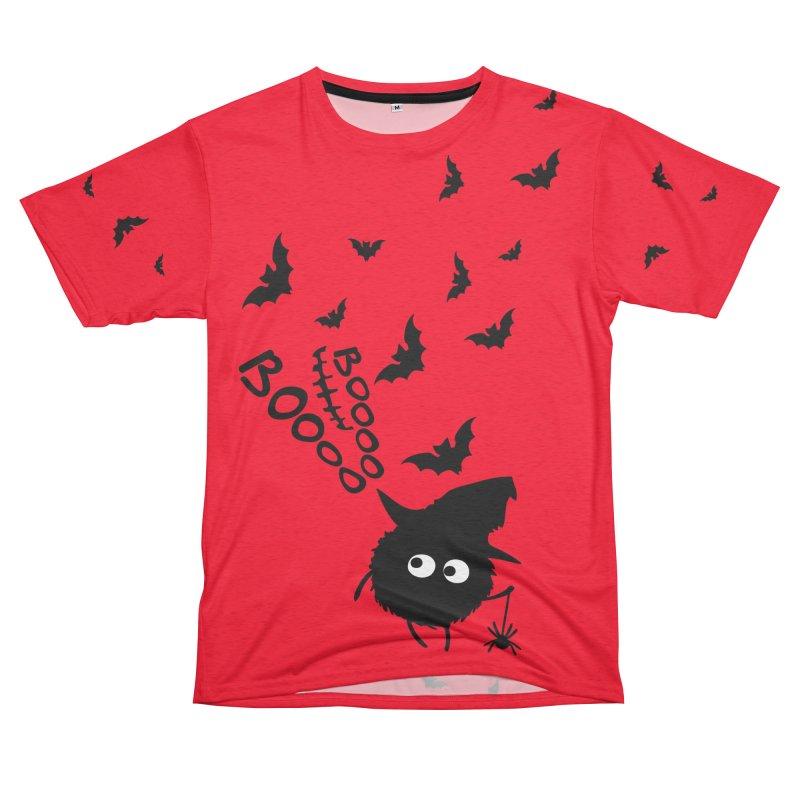 BOO BOO Halloween Women's Unisex French Terry T-Shirt Cut & Sew by cindyshim's Artist Shop