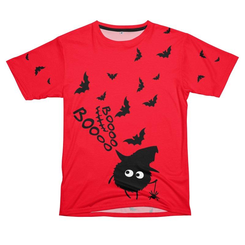 BOO BOO Halloween Women's Unisex T-Shirt Cut & Sew by cindyshim's Artist Shop