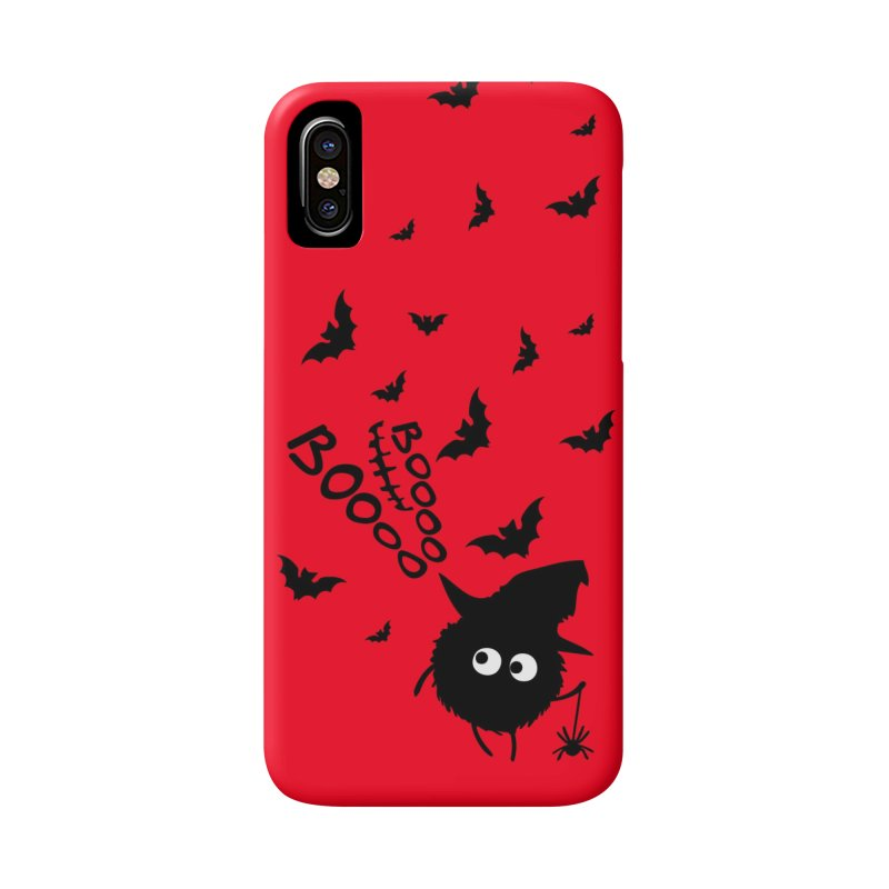 BOO BOO Halloween Accessories Phone Case by cindyshim's Artist Shop