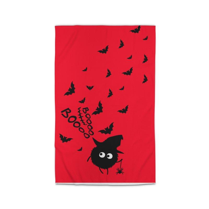 BOO BOO Halloween Home Rug by cindyshim's Artist Shop
