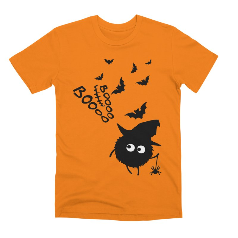 BOO BOO Halloween Men's Premium T-Shirt by cindyshim's Artist Shop