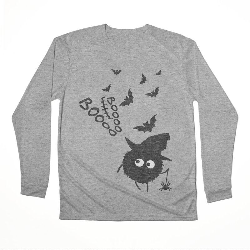 BOO BOO Halloween Men's Performance Longsleeve T-Shirt by cindyshim's Artist Shop