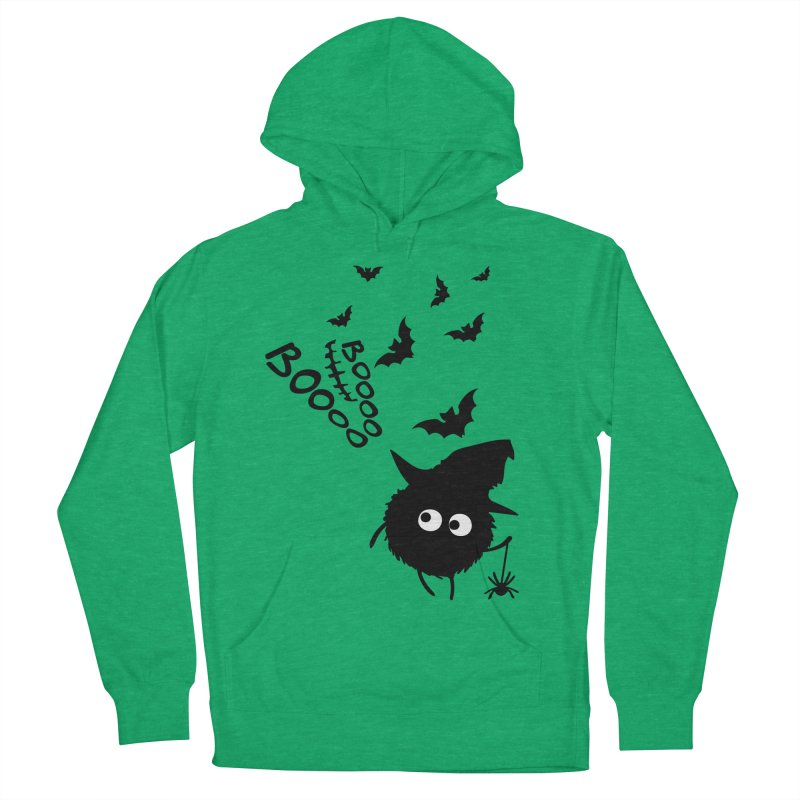 BOO BOO Halloween Women's French Terry Pullover Hoody by cindyshim's Artist Shop