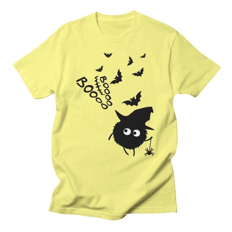 BOO BOO Halloween Men's Regular T-Shirt by cindyshim's Artist Shop