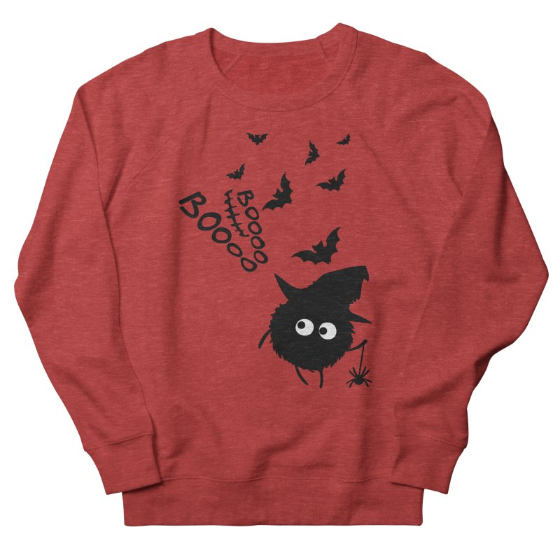 BOO BOO Halloween Women's French Terry Sweatshirt by cindyshim's Artist Shop