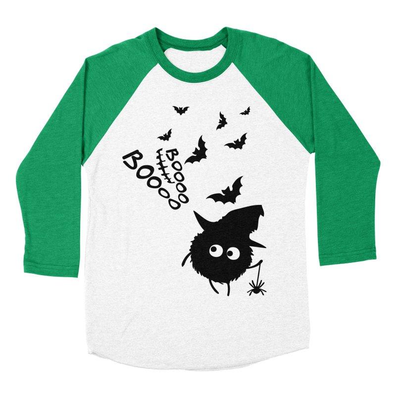 BOO BOO Halloween Women's Baseball Triblend Longsleeve T-Shirt by cindyshim's Artist Shop