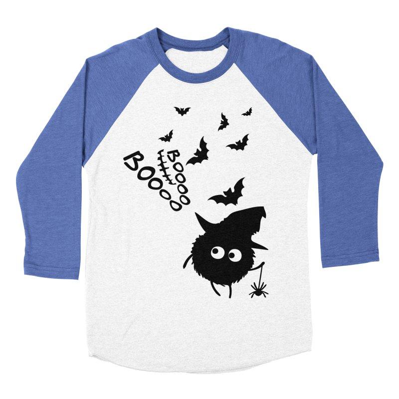 BOO BOO Halloween Men's Baseball Triblend Longsleeve T-Shirt by cindyshim's Artist Shop
