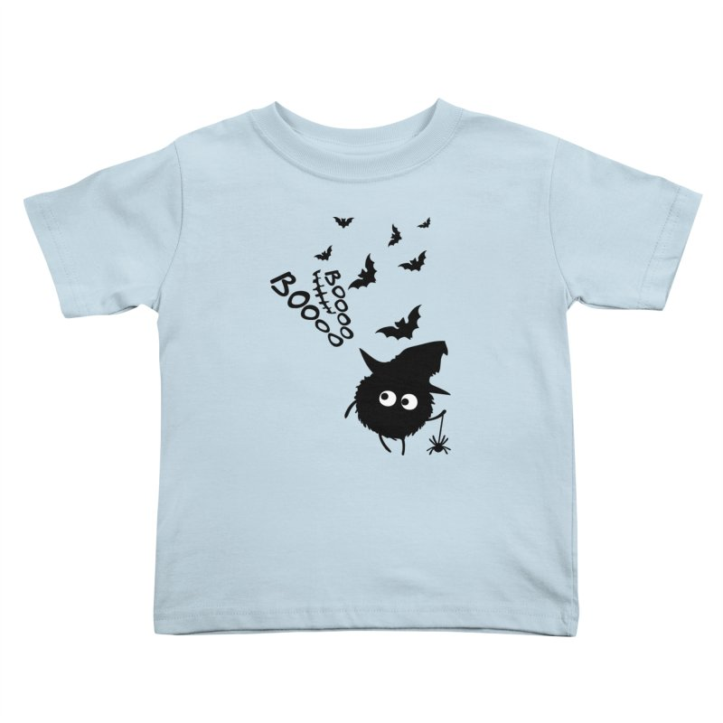 BOO BOO Halloween Kids Toddler T-Shirt by cindyshim's Artist Shop