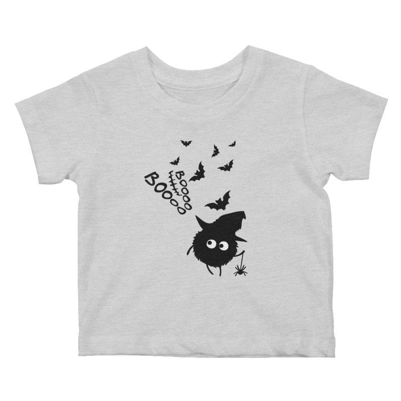 BOO BOO Halloween Kids Baby T-Shirt by cindyshim's Artist Shop