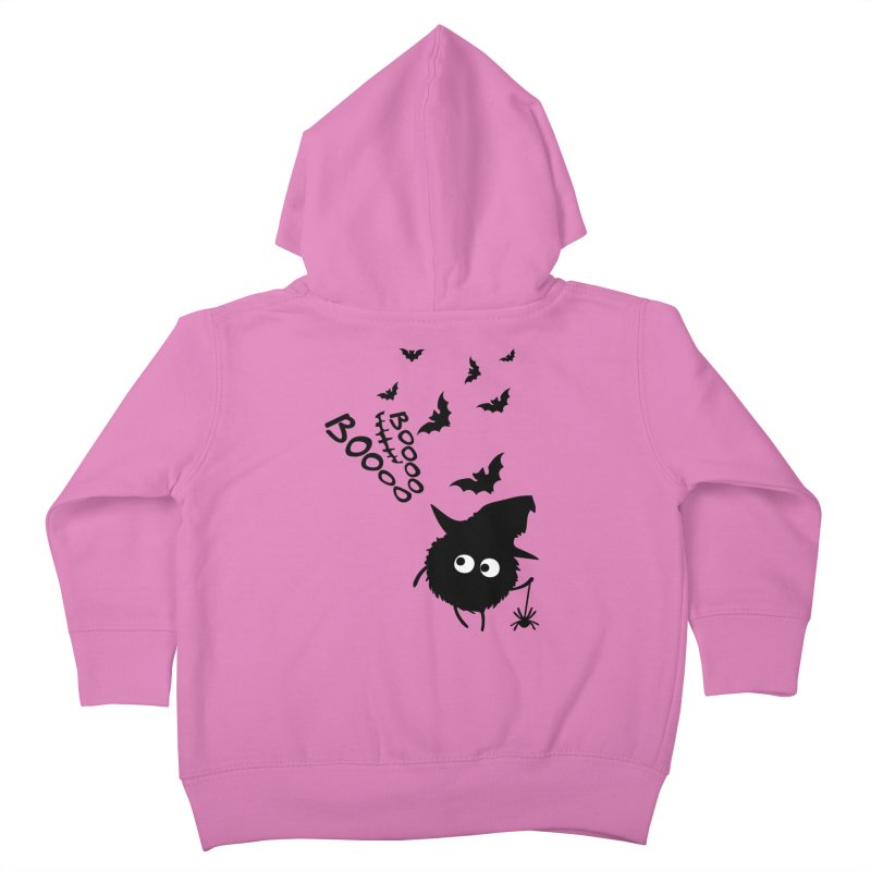 BOO BOO Halloween Kids Toddler Zip-Up Hoody by cindyshim's Artist Shop
