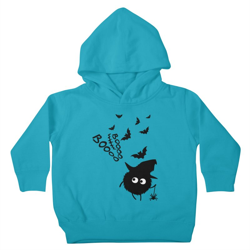 BOO BOO Halloween Kids Toddler Pullover Hoody by cindyshim's Artist Shop