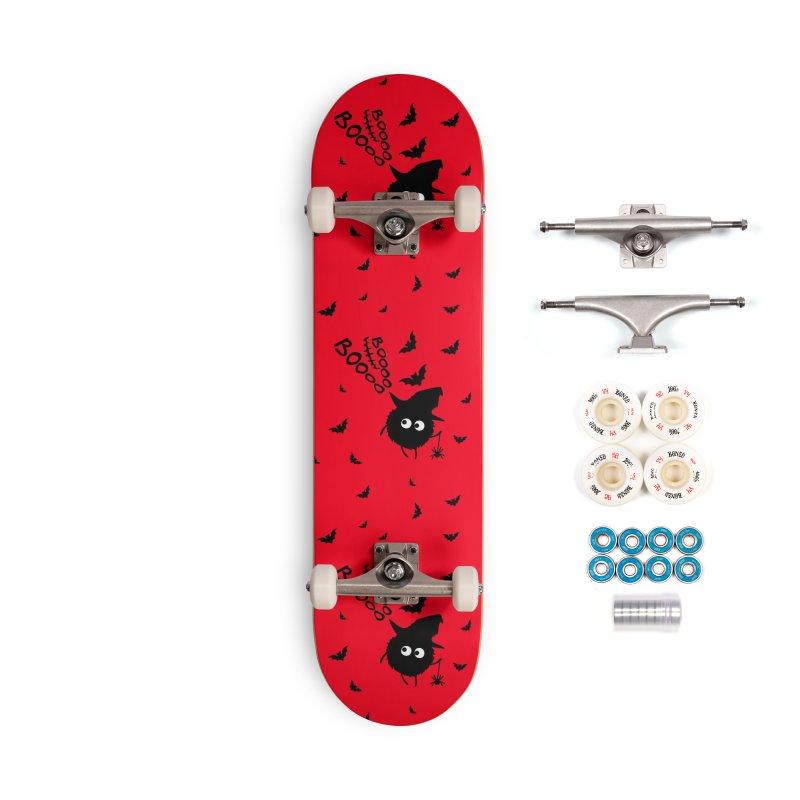 BOO BOO Halloween Accessories Complete - Premium Skateboard by cindyshim's Artist Shop