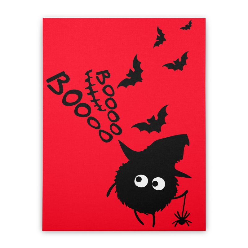 BOO BOO Halloween Home Stretched Canvas by cindyshim's Artist Shop