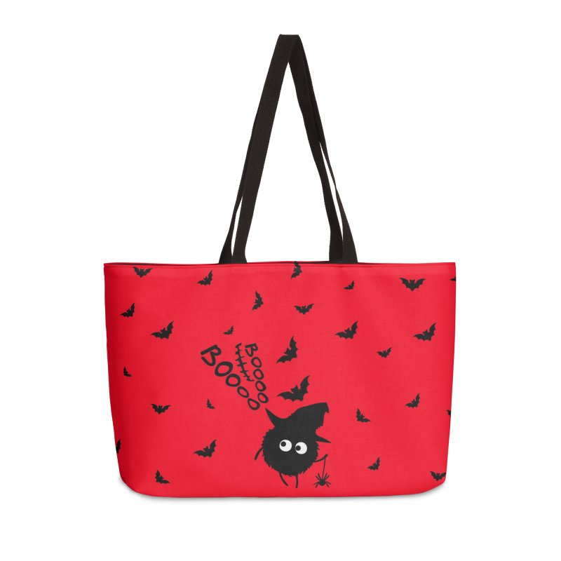 BOO BOO Halloween Accessories Weekender Bag Bag by cindyshim's Artist Shop