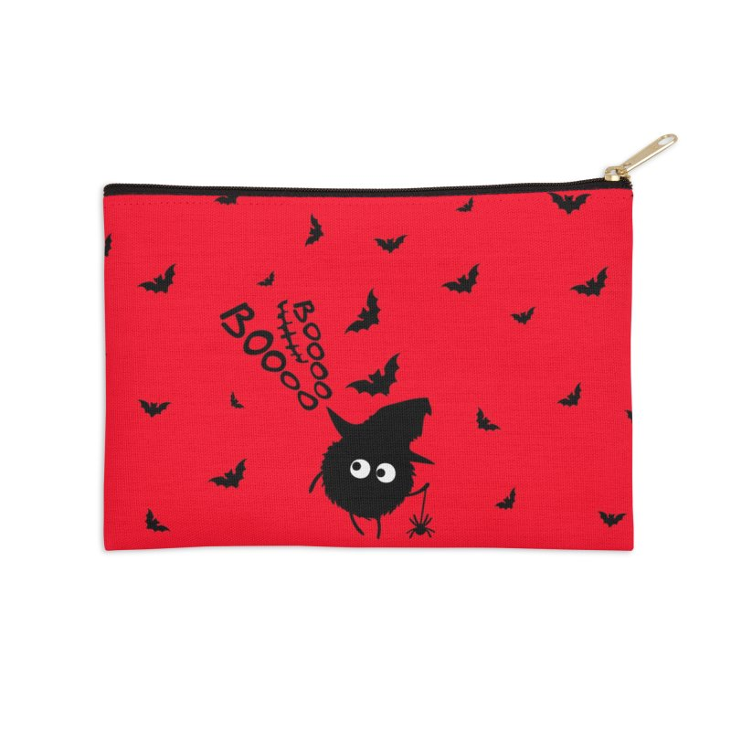 BOO BOO Halloween Accessories Zip Pouch by cindyshim's Artist Shop