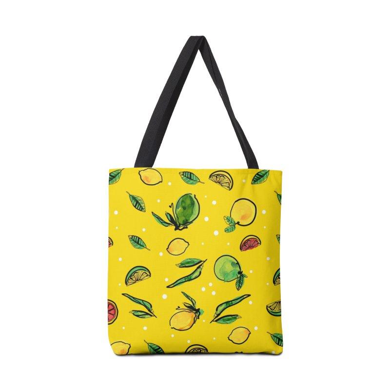 Fresh Fruity Accessories Tote Bag Bag by cindyshim's Artist Shop