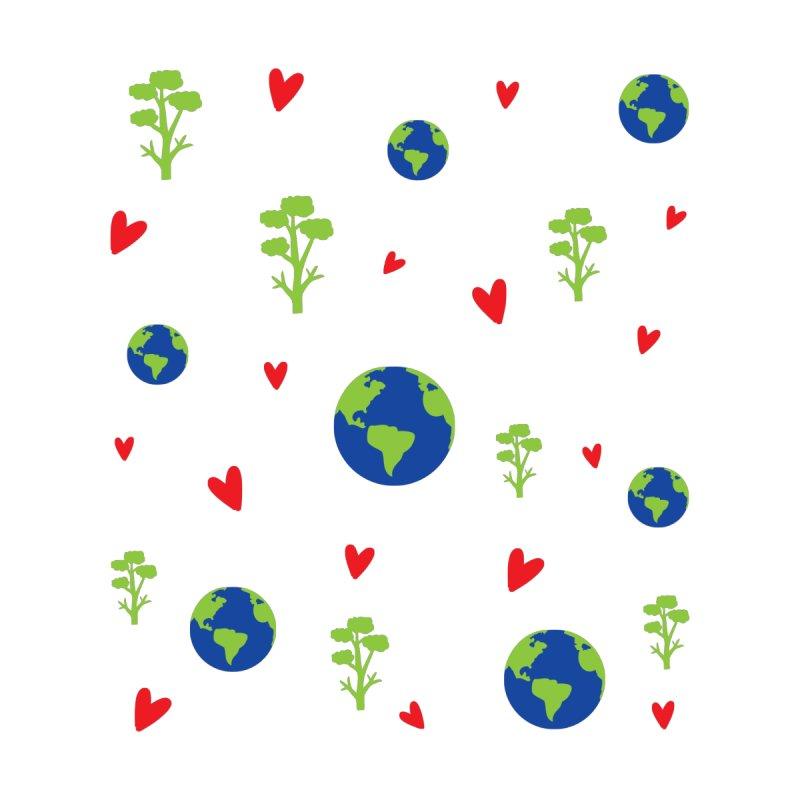 Love earth pattern by cindyshim's Artist Shop