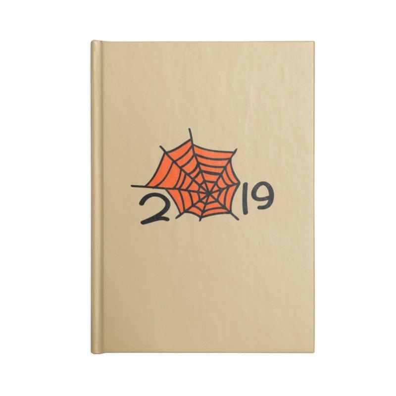 2019 spider web Accessories Blank Journal Notebook by cindyshim's Artist Shop