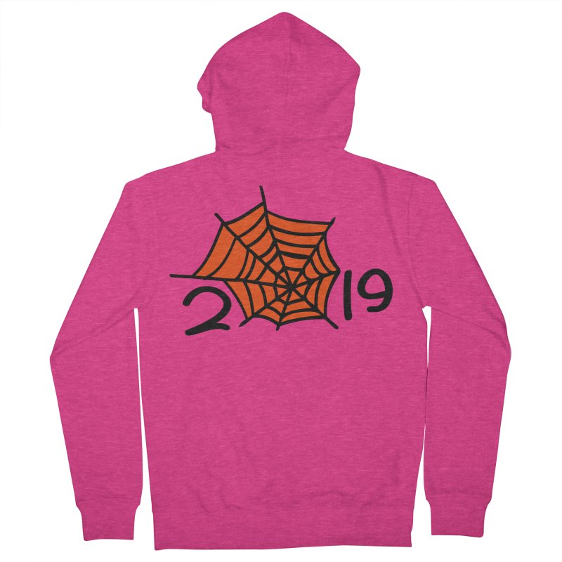 2019 spider web Women's French Terry Zip-Up Hoody by cindyshim's Artist Shop